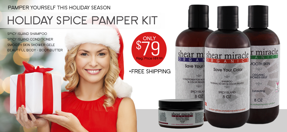 Holiday Spice Pamper Kit